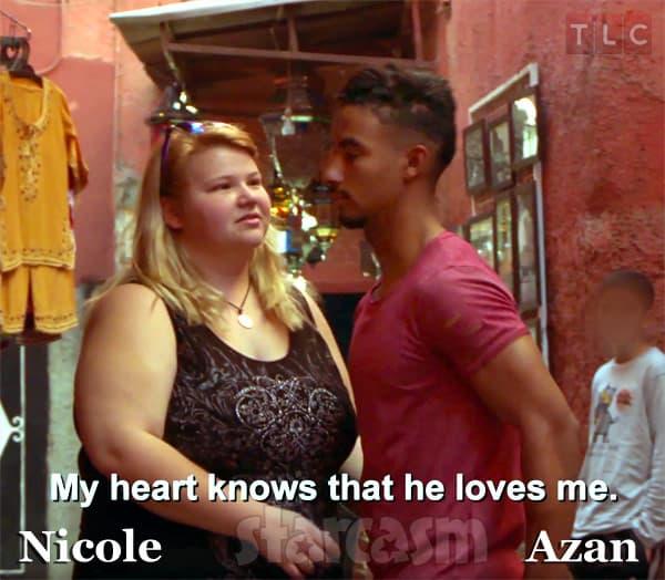 90 Day Fiance Season 4 Nicole and Azan from Morocco