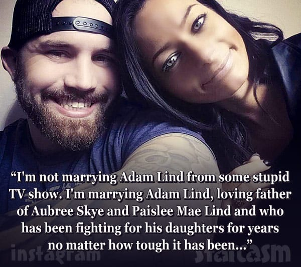 Adam Lind fiancee Stasia Huber together quote