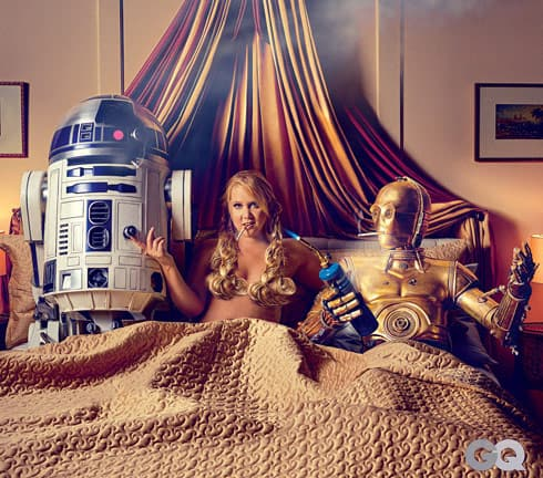 Amy Schumer Star Wars nude GQ