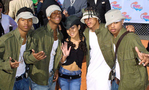 J Boog From B2k Kids Are Lil Fizz and Jhene...