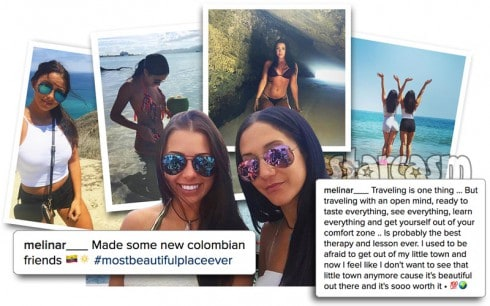 Candaian cocaine cruise girls arrested in Australia Instagram photos