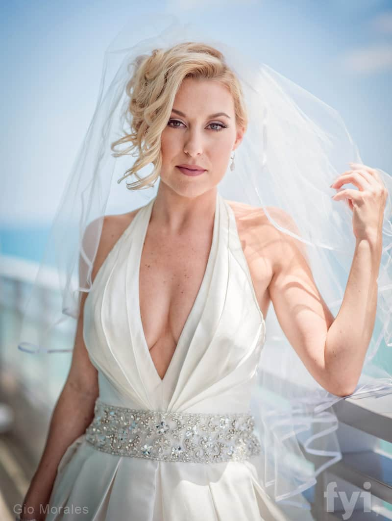 Heather Seidel Married at First Sight wedding photo