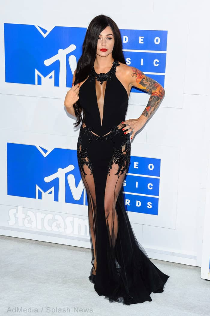 JWoww 2016 MTV VMAs