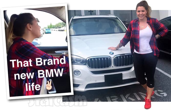 Kail Lowry new BMW photos