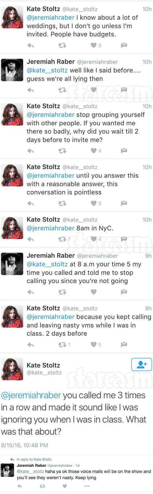 Return To Amish Jeremiah and Kate Twitter feud deleted tweets