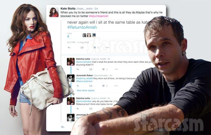 Kate Stoltz Jeremiah Raber Twitter fight