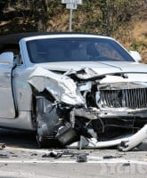 Kris Jenner Rolls Royce crash