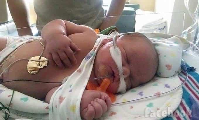 Mackenzie McKee baby son Broncs