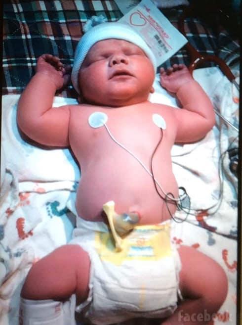Mackenzie McKee baby son Broncs Weston