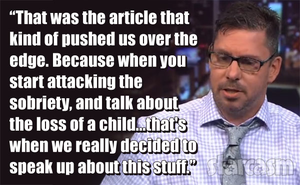 Amber Portwood's fiance Matt Baier quote on Dr. Drew