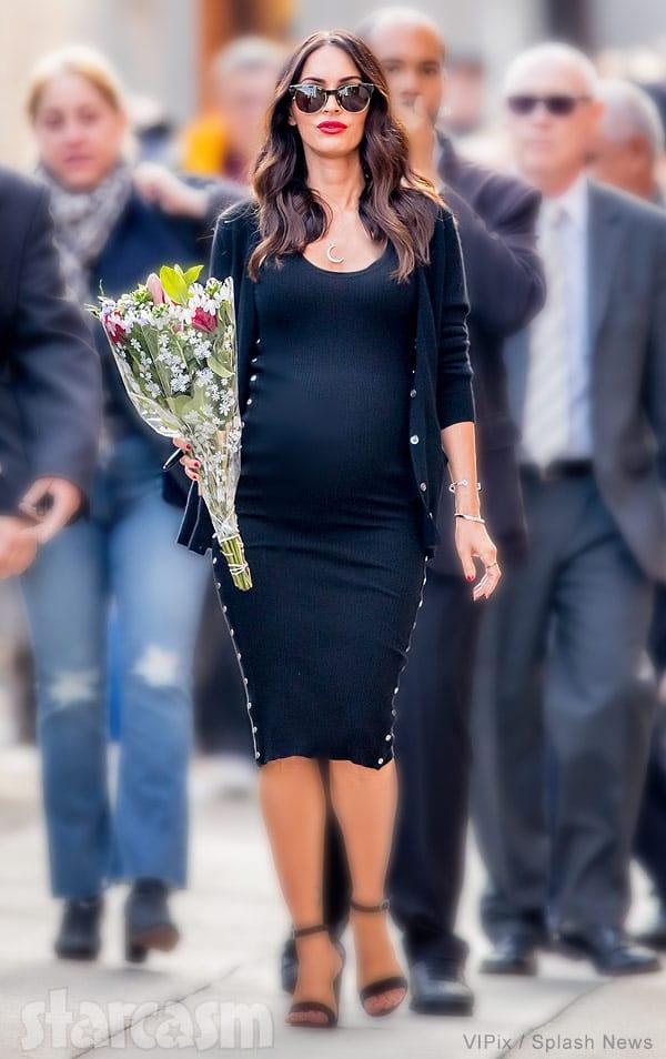 Megan Fox pregnant 2016