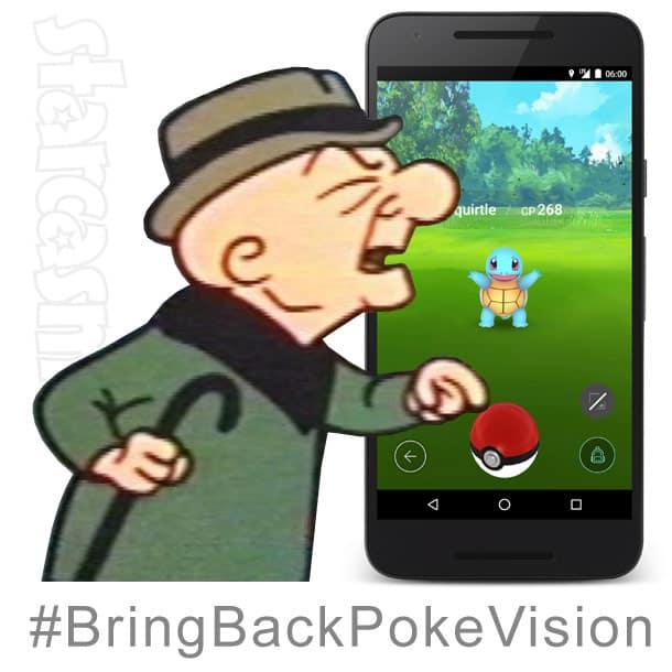 Mr. Magoo Bring Back PokeVision meme