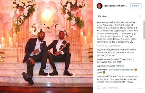 Ray J & Princess Love wedding photos 5