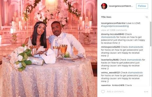 Ray J & Princess Love wedding photos 6
