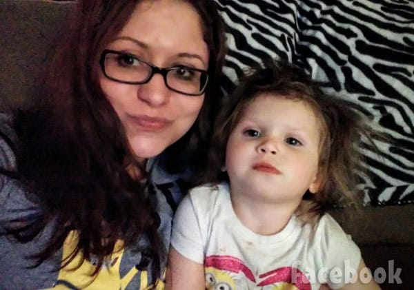 Return To Amish Sabrina with daughter Oakley
