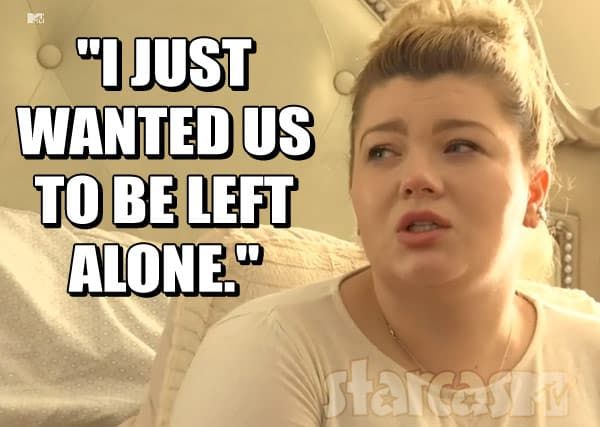 Amber Portwood left alone quote