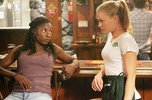 Rutina Wesley and Anna Paquin