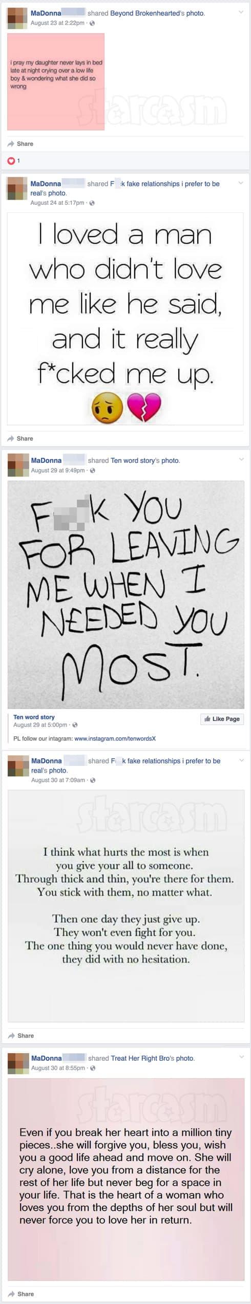 Chris Baier girlfriend MaDonna Facebook