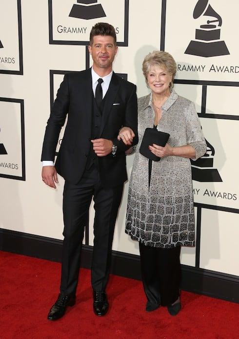 Robin Thicke and mom Gloria Loring