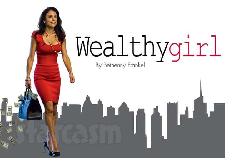 Bethenny Frankel Wealthy Girl logo