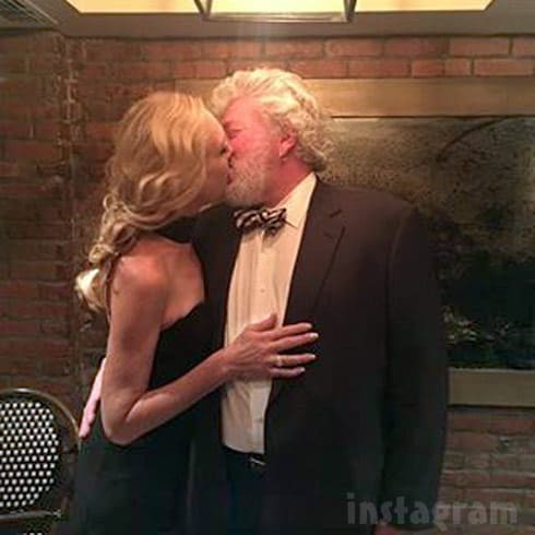 Debra Danielsen boyfriend Dr David Merz kissing