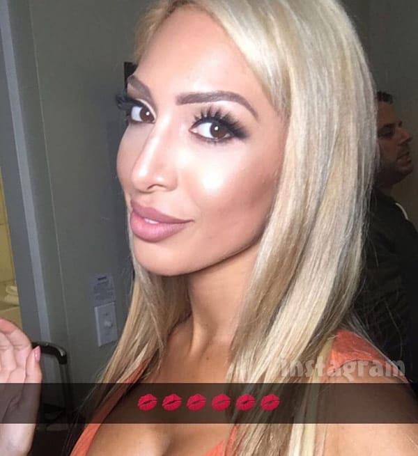 Farrah Abraham blonde hair