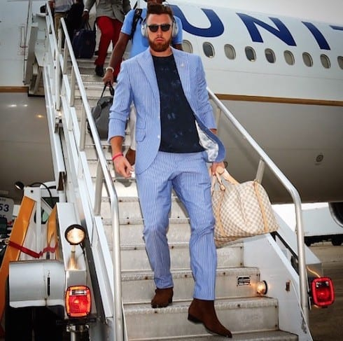 How much does Travis Kelce make 1