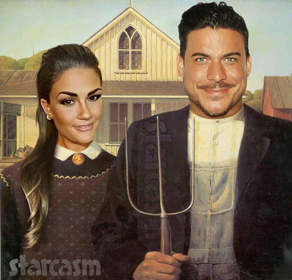 Jax Taylor Brittany Cartwright spinoff American Gothic painting