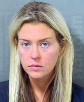 Kate Major Lohan arrest 2016 mug shot