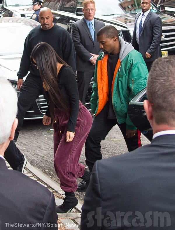 Kim Kardashian returns to NYC after Paris robbery