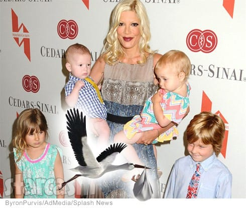 Tori Spelling pregnant with 5th child