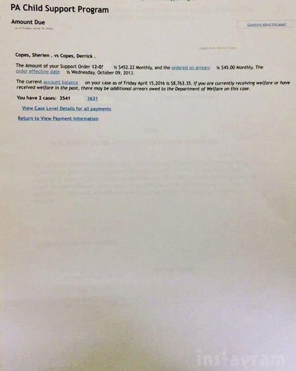 Apollo_Nida fiancee Aherien Almufti unpaid child support receipt