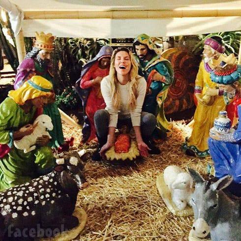 Brandi Glanville nativity scene photo