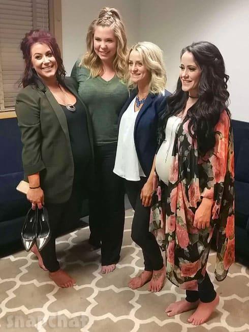 Teen Mom 2 cast Chelsea Houska Jenelle Evans pregnant
