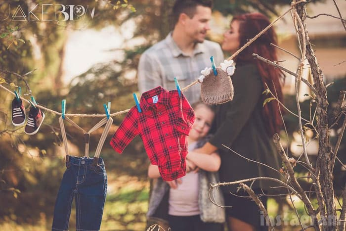 Cole and Chelsea DeBoer baby gender reveal photo