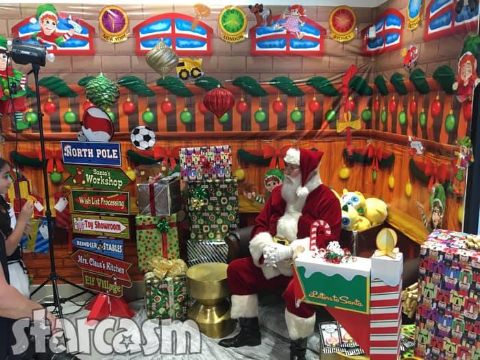 Farrah Abraham's daughter Sophia's store Santa Claus