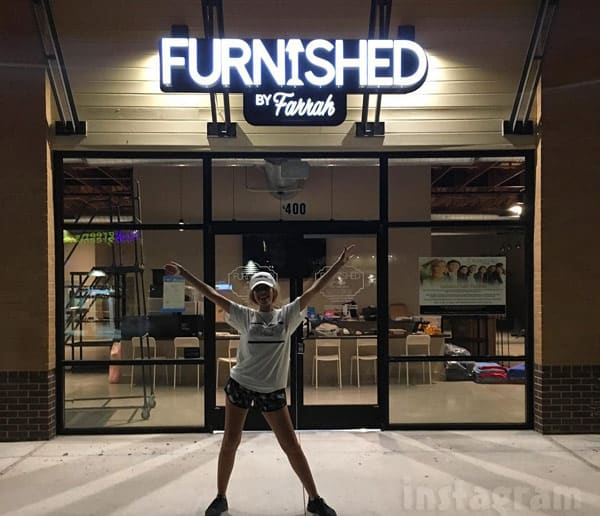 Furnished By Farrah furniture store