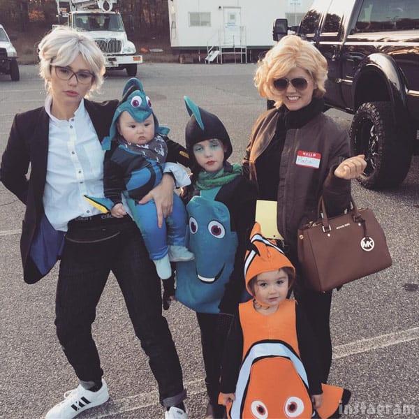 JWoww Ellen DeGeneres costume