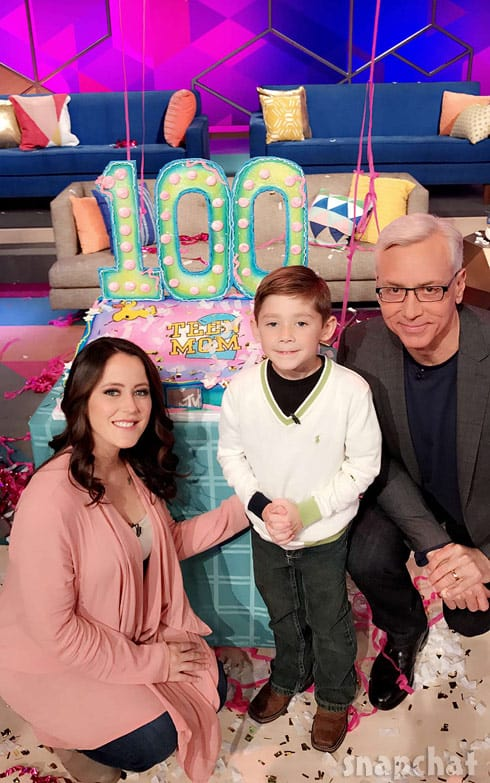 Jenelle Evans Jace Dr. Drew Teen Mom 2 Season 8 Reunion 2016