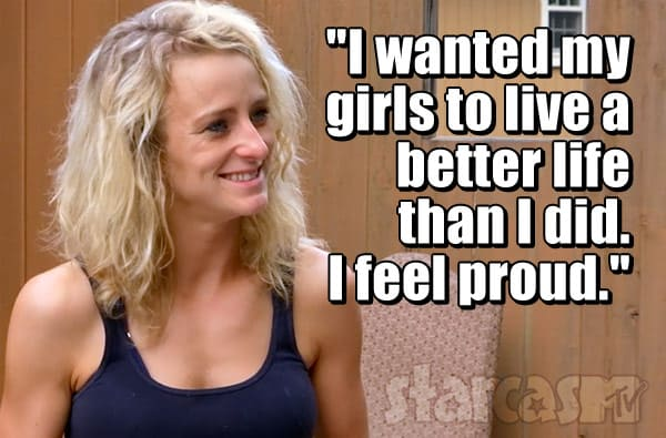 Leah Messer Teen Mom 2 Season 8 quote