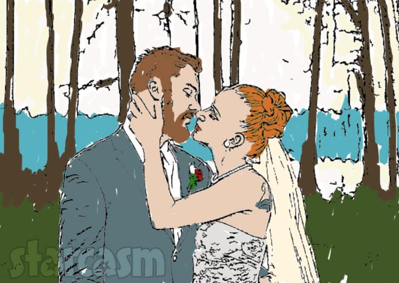 Maci Bookout wedding coloring book