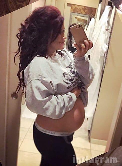 Pregnant Chelsea Houska DeBoer baby bump