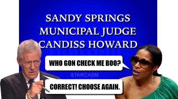 Sheree Whitfield Jeopardy Who Gon Check Me Boo?