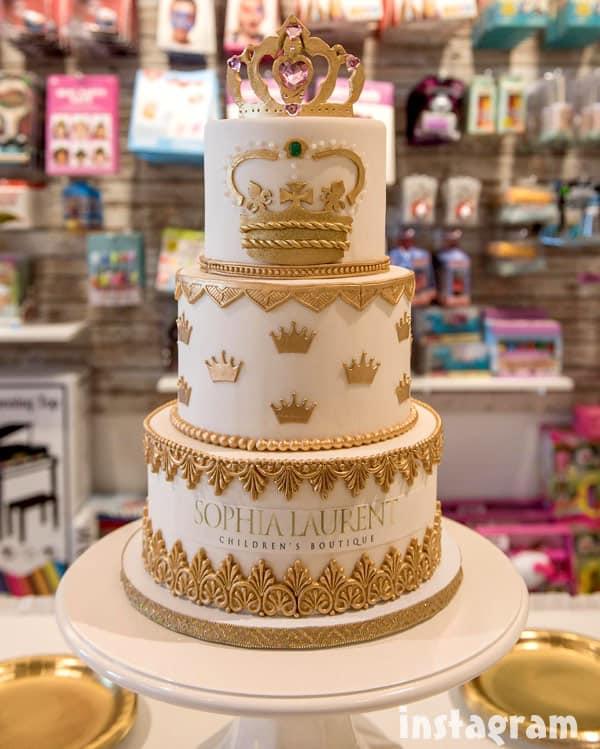 Sophia Laurent Boutique cake