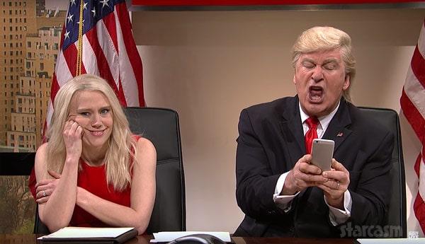 Alec Baldwin as Donald Trump on Saturday Night Live 2016