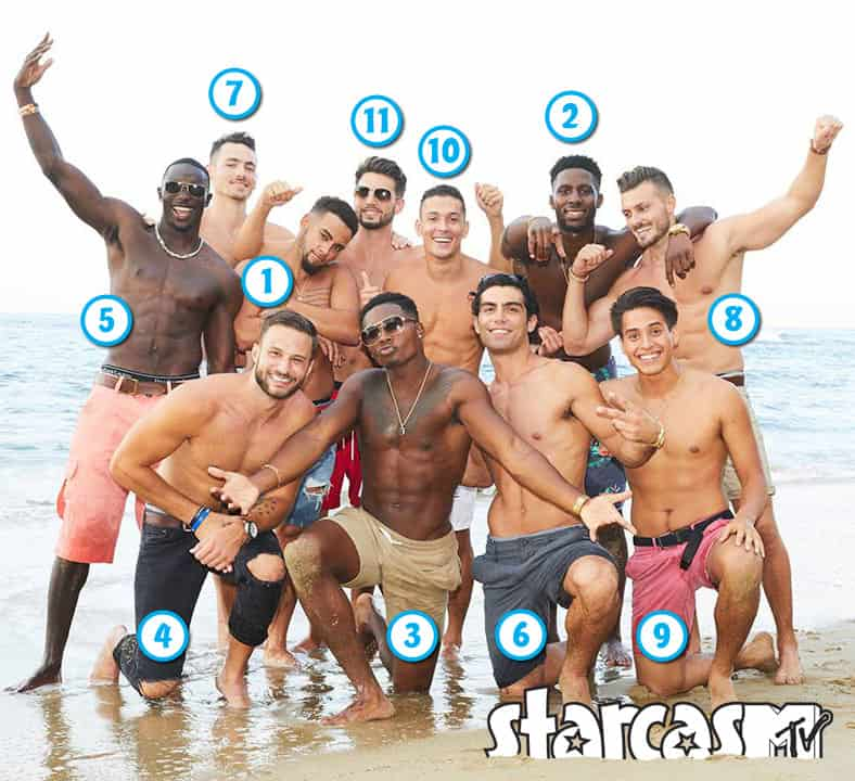 MTV AYTO Are You The One? Season 5 men names Instagrm