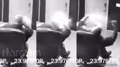 CeeLo Green exploding phone video