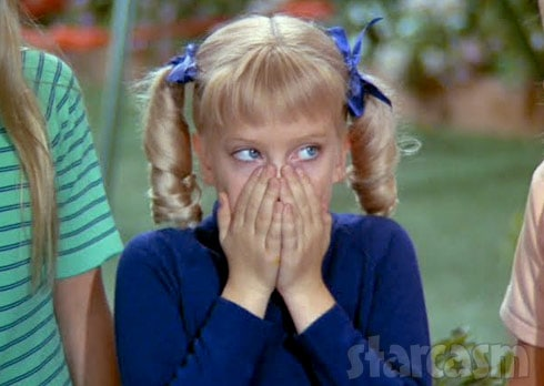 Cindy Brady shocked
