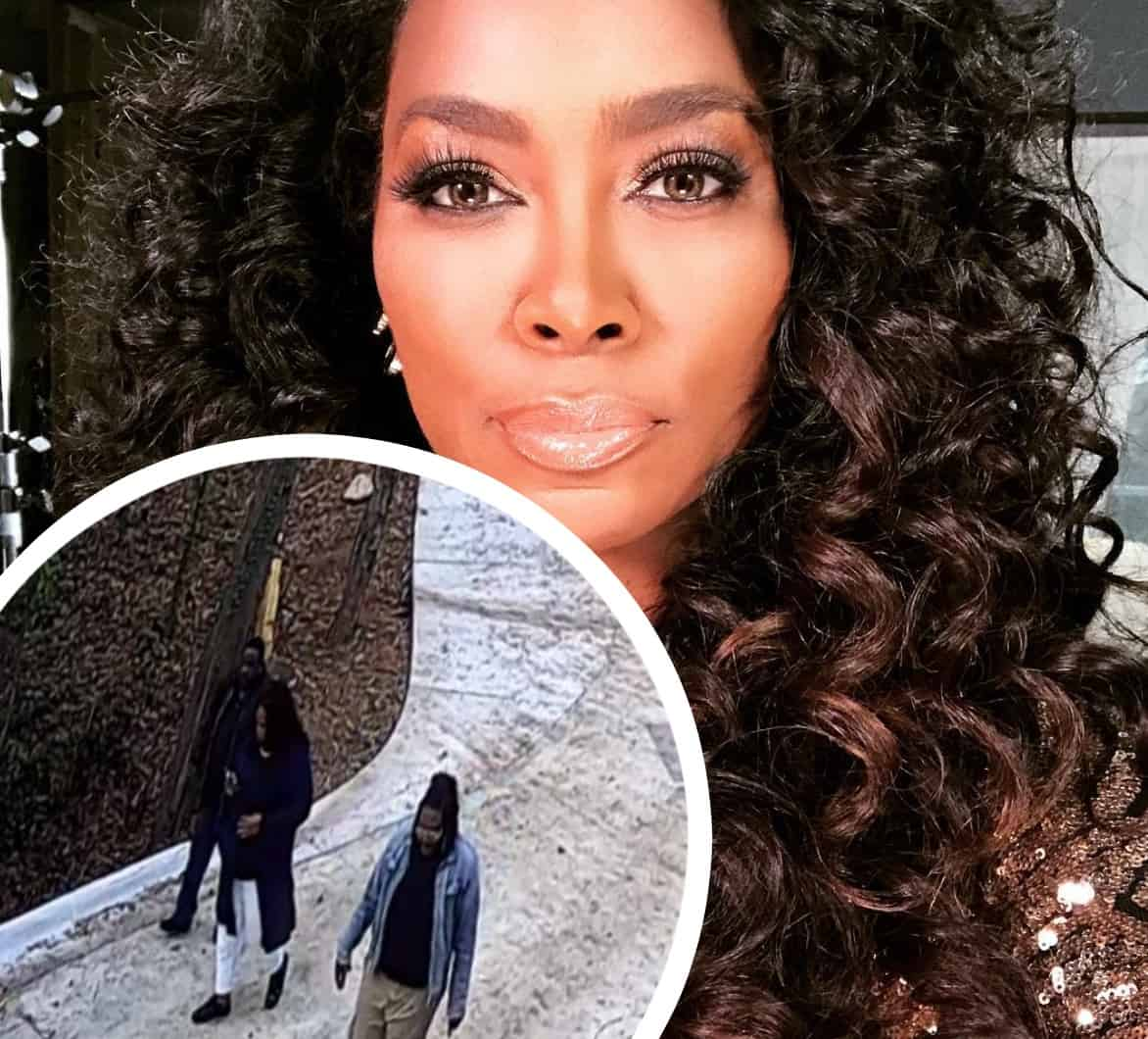 Image result for kenya moore chases off