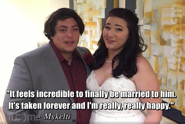 Mykelti Brown husband Tony Padron wedding quote